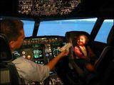 Pilot nimmt Kind mit zur Arbeit