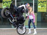 Biker-Kuss