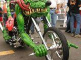 Verrücktes Motorrad