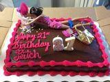 Netter Geburtstagskuchen