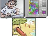 Fieses Tetris