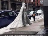 Batman aus Eis