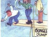 Bungee Jumping ohne Seil