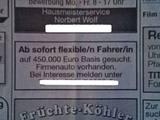 Auf 450.000 Euro Basis