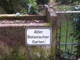 Alter, Botanischer Garten