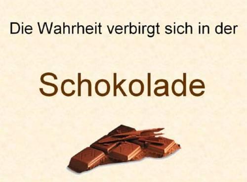 Schokoladentest