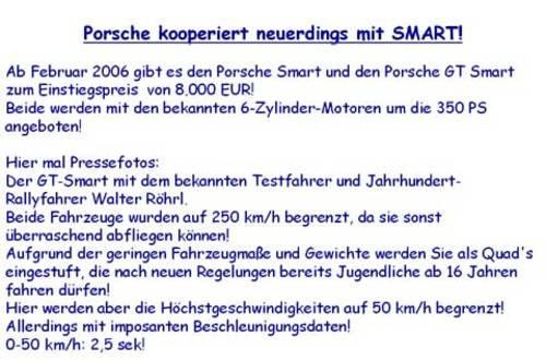 Porsche-Smart