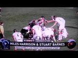 Kopfschuss beim Rugbyspiel